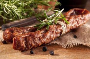 Savory sausage