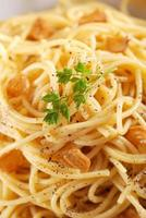 spaghetti with lemon