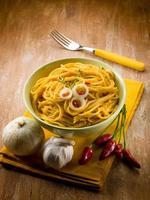 vegetarian carbonara spaghetti