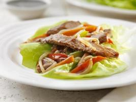 Szechwan Beef Lettuce Wrap photo