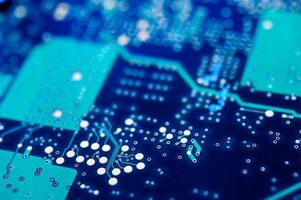 Circuit board background. photo