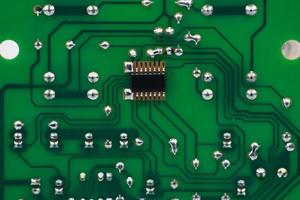 Electronics circute broad photo