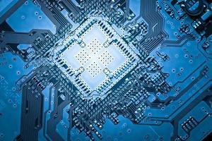 Computer circuit board, web design background photo