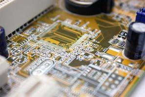 Electronic scheme photo
