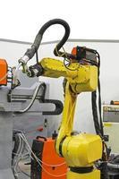 Robot welding photo
