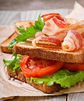 sándwich grande caliente