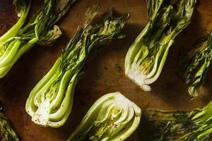 Baked Organic Baby Bok Choy photo