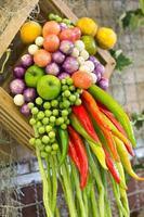 verduras de Tailandia foto
