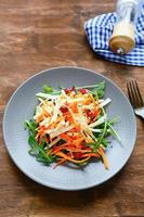 winter vegetable salad photo