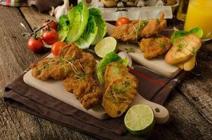 mini costeletas - schnitzels