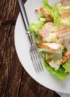 Fresh Caesar salad photo