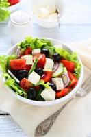 fresh salad with cheese