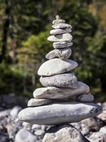 pilha de pedras