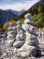 rock stacks photo