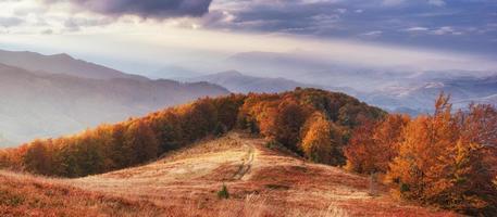 rock massif in the Carpathians.