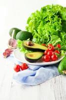 Mix of summer vegetables