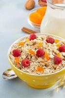 bowl of cereals muesli photo