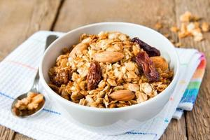 wholegrain muesli photo