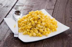 Plate with Corn photo