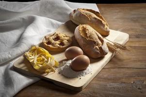 productos de panadería foto