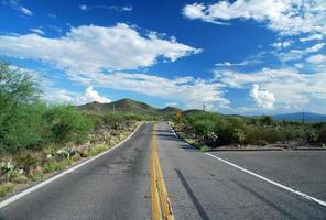 autopista del desierto de Tucson