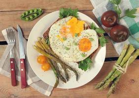 asparagus on plate
