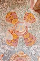 Banska Stiavnica - ceiling fresco of baroque calvary