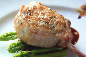 Grilled Pork chop photo