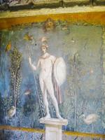 fresco mars in huis van venus, pompeii