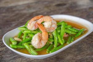 Stir Fried Asparagus with Shrimp