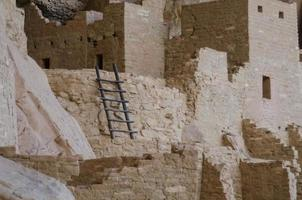 Mesa Verde Ladder Close Up