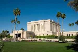 Mesa Arizona Temple of the LDS Church (The Mormons)