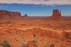 paisaje del valle del monumento