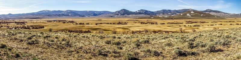 montagnes rocheuses du Colorado contreforts