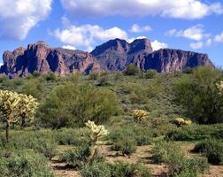 The Superstition Mountains photo