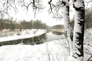 río de invierno