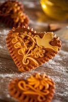 Gingerbread hearts photo