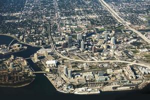 Tampa, Florida Aerial View photo