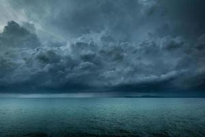 tormenta en el mar foto