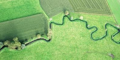 Río serpenteante en Bélgica