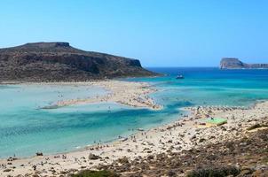 The lagoon of Balos