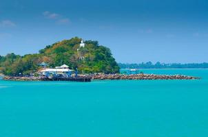 Ferry Habor at Surat Tha ni ,Thailand photo