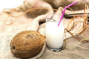 coconut on summer photo