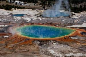 Grand prismatic spring, Yellowstone national park photo