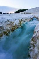 ruisseau qui coule à pamukkale