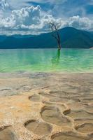 Hierve el Agua, natural rock formations in the Oaxaca state