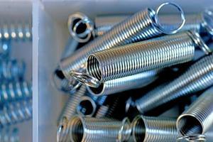 Steel springs photo