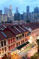 barrio chino de singapur
