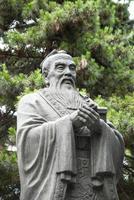 estátua de confúcio