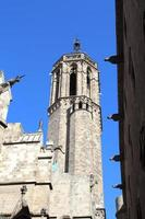 kathedraal van het heilig kruis en heilige eulalia, barcelona, spanje